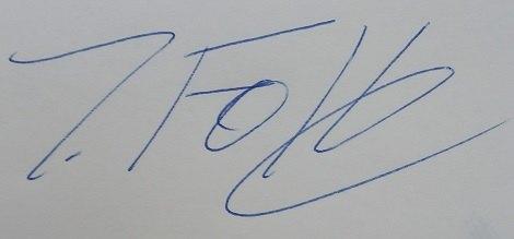 Signatur IHF
